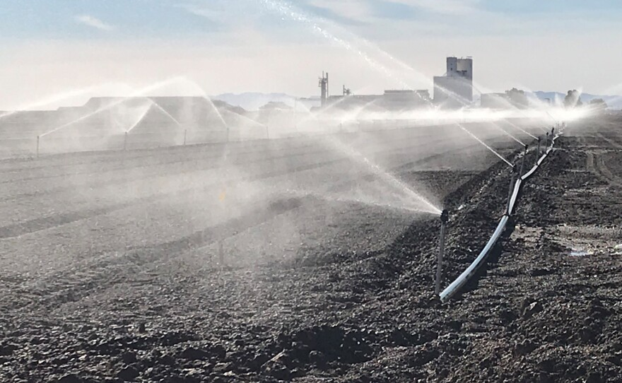 Farming is a major economic driver in the Imperial Valley and it will continue to provide water for the Salton Sea.  However, the amount of water flushed off farm fields is not nearly enough to keep the current lake level stable.
