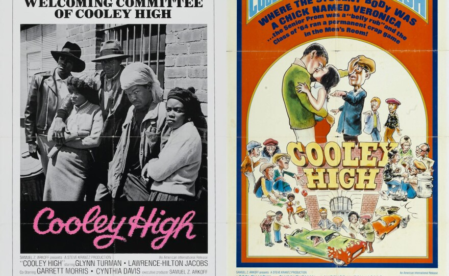 """A comparison of the different tacts the advertising campaign for """"Cooley High"""" (1975) took."""