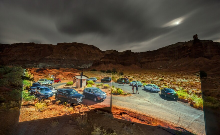 """""""Capitol Reef"""" (2020) is an archival pigment print by Philipp Scholz Rittermann, who will be projecting images on the Lafayette Hotel as part of the 2021 Medium Festival of Photography."""