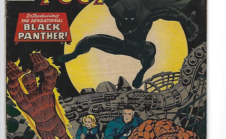 The Fantastic Four Issue #52 where Black Panther/T'challa made his first appearance in July of 1966.