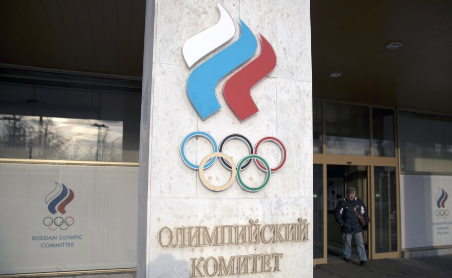 Russia's ban from the Olympic movement was lifted on Wednesday despite two failed doping tests by its athletes at the Pyeongchang Winter Olympics.