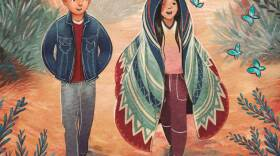"""Detail from the cover of San Diego author Chris Baron's middle grade novel-in-verse, """"The Magical Imperfect,"""" which was published June 15, 2021."""