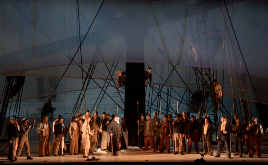 """""""Moby-Dick"""" at the San Diego Opera."""
