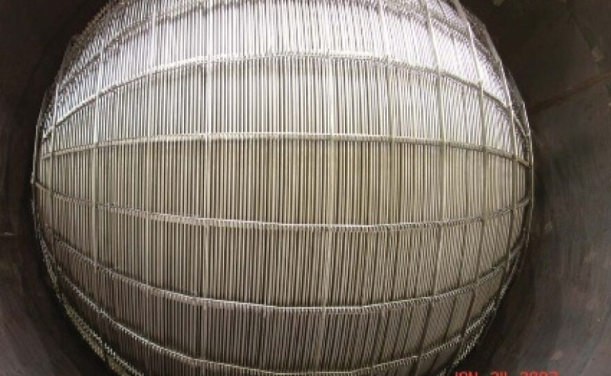 The tightly packed steam generator tubes that are at the root of San Onofre's problems
