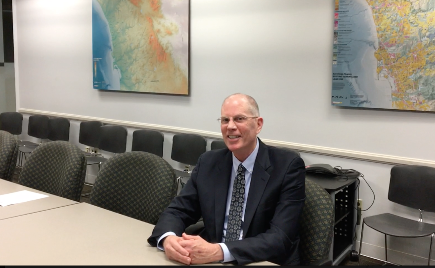 Ray Traynor is operations director for SANDAG, San Diego's regional planning agency.