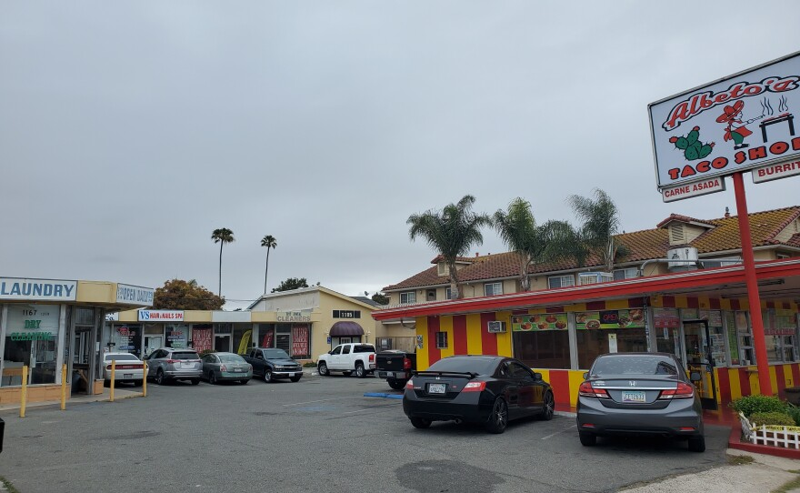 The part of Imperial Beach where the lowest percentage of businesses received federal Paycheck Protection Program loans countywide, April 26, 2021.