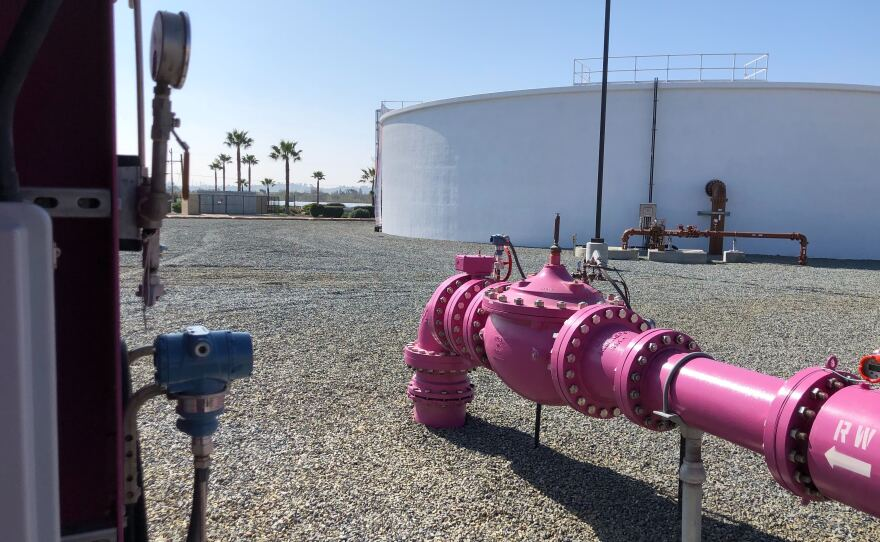 Ground was broken for Oceanside's new pure water treatment plant Feb. 19, 2020.