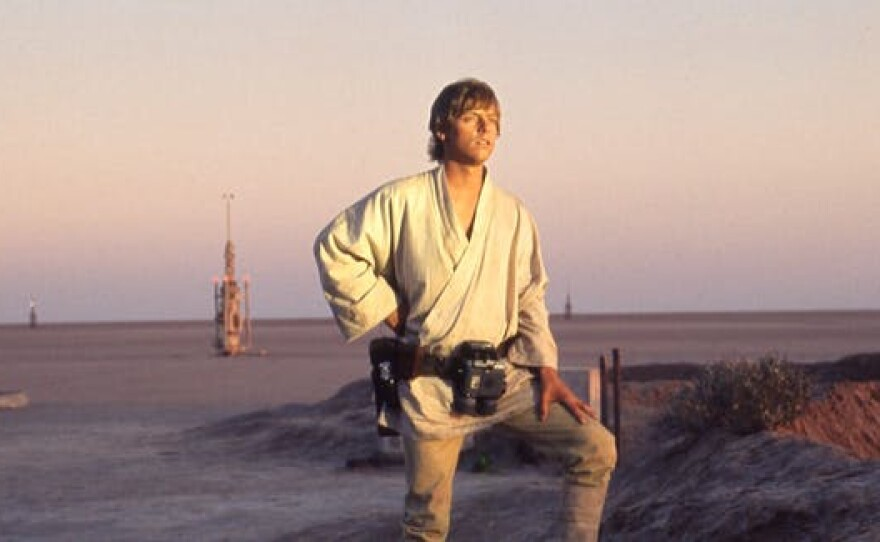 """Mark Hamill as Luke Skywalker in the film that started it all, """"Star Wars,"""" now referred to as """"Star Wars: A New Hope."""""""