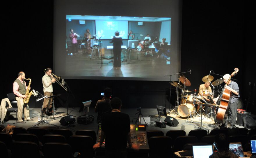 One of the virtual concerts performed by musicians/composers/improvisors at UCSD.