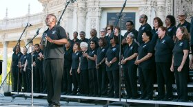 The Martin Luther King Jr. Community Choir San Diego performs in an undated photo.