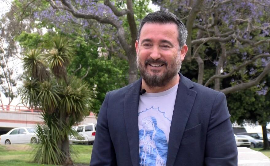 Michael Inzunza is pictured in Chula Vista, Calif. June 4, 2021.