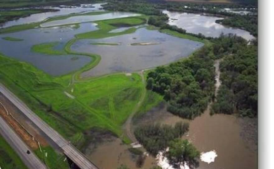 Sacramento-San Joaquin River Delta water system.