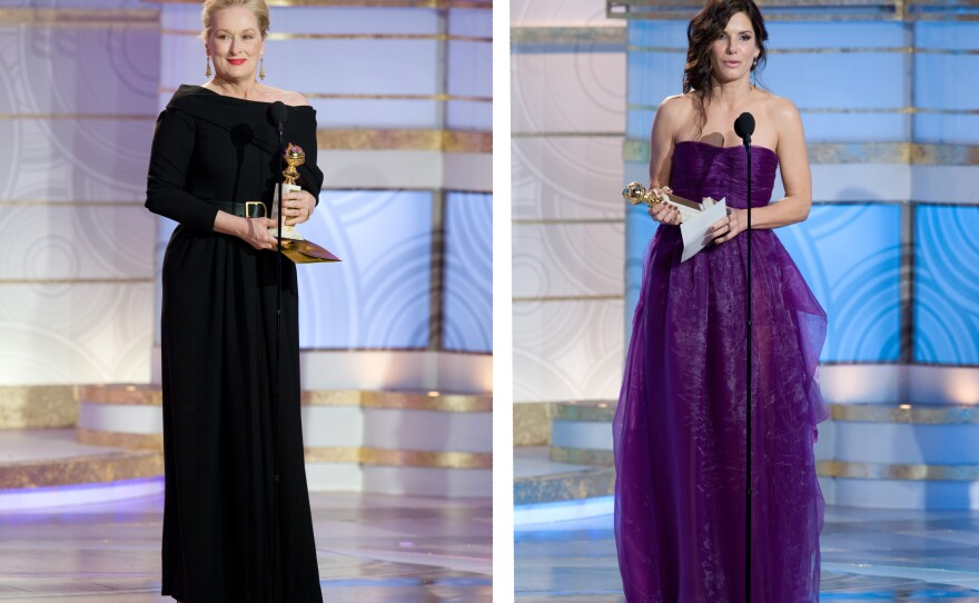 Best Actress winners (again!): Meryl Streep and Sandra Bullock