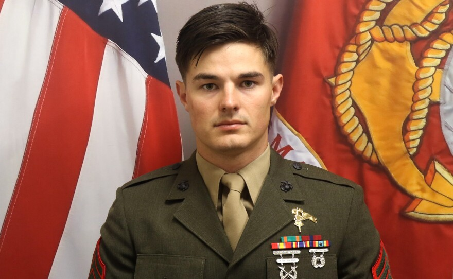 Marine Staff Sgt. Joshua Braica, 29, died Sunday after being critically injured in a training exercise.