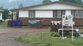 The Sierra Leone clinic that provided researchers with antibodies from Lassa survivors is seen in this undated photo.