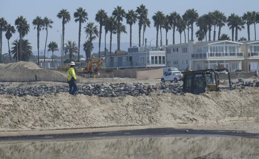 California Oil Spill Orange County huntington beach