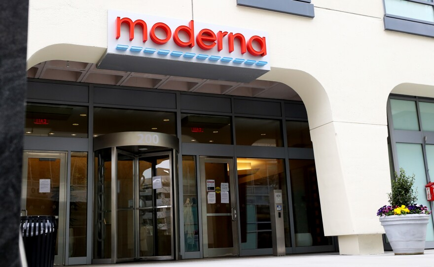 Clinical data for Moderna's COVID-19 vaccine showed it was nearly 95% effective in preventing disease, according to an interim analysis described in a company release Monday.