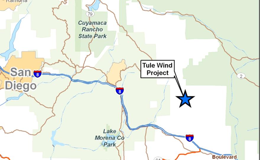 Tule Wind Project