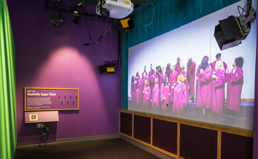 """""""Wade in the Water"""" exhibit at the National Museum of African American Music"""