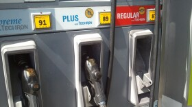 A gas pump at a San Diego gas station appears in this undated photo.