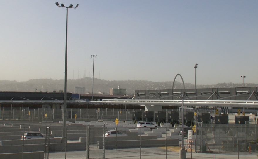 The southbound inspection lanes at the San Ysidro Port of Entry on October 25, 2019.