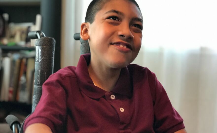 Eleven year old Damien Omler has a rare disease known as CDG. But he is the only known person in the world with a specific mutation, March 4, 2020.