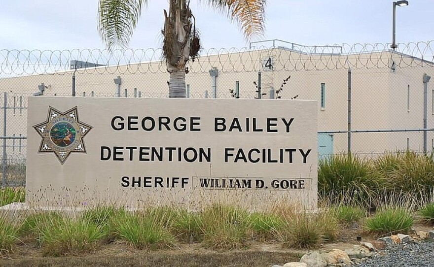 The George Bailey Detention Facility in Otay Mesa is shown on July 21, 2015.