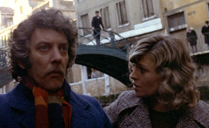 """Donald Sutherland and Julie Christie star as a couple grieving over the death of their little daughter in Nicolas Roeg's """"Don't Look Now."""""""