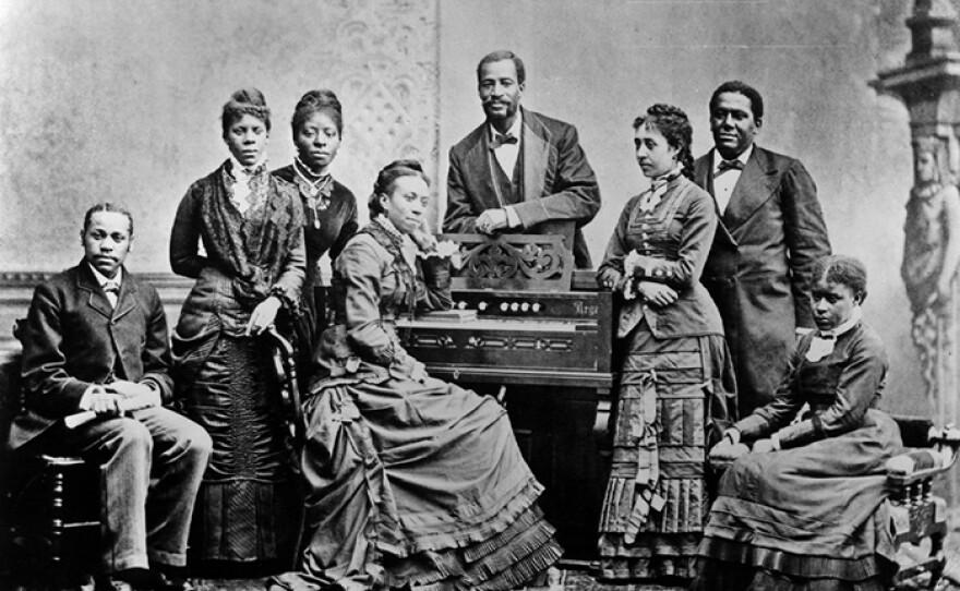 The Jubilee Singers circa 1875.