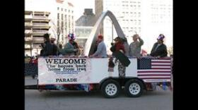 Welcome Home Parade for Iraq War veterans