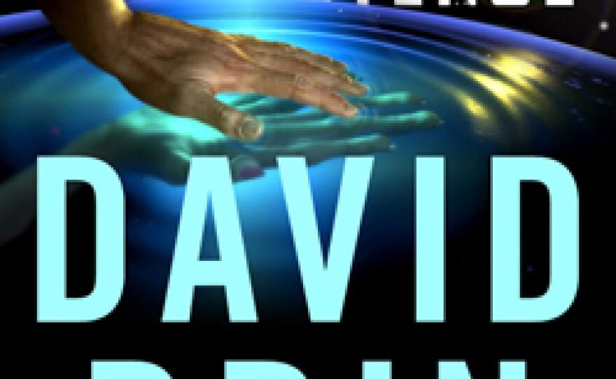 "David Brin's newest science-fiction novel ""Existence."""