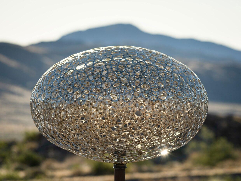 "Christopher Puzio's ""Interactome"" sculpture"