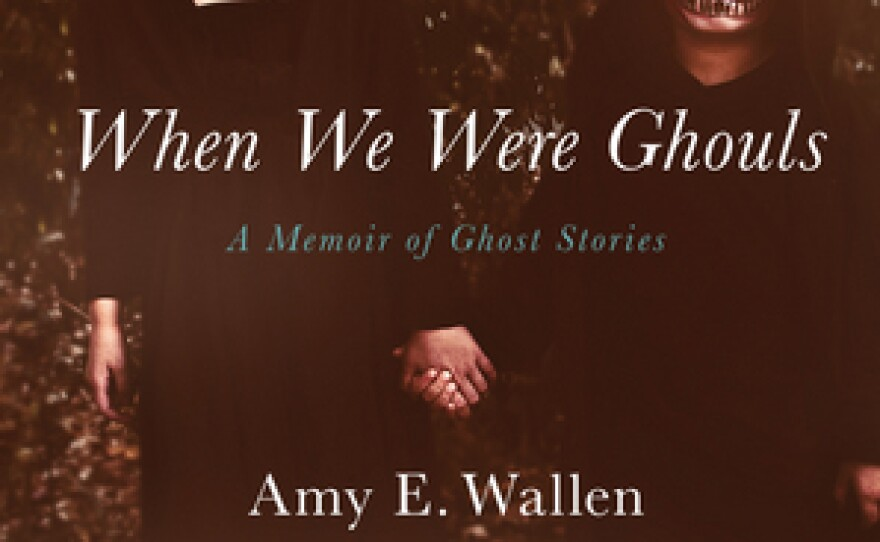 """The book cover for """"When We Were Ghouls"""" by Amy Wallen."""