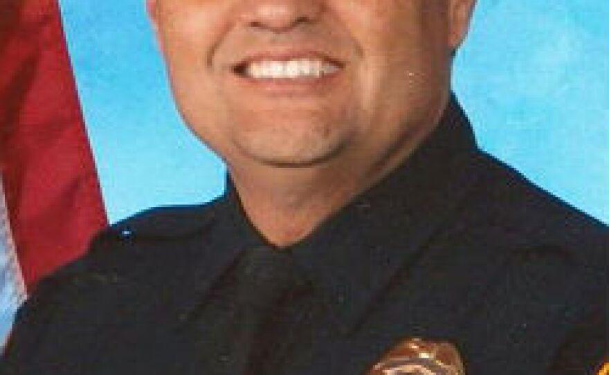 Ernesto Encinas, pictured, is a former San Diego police detective.
