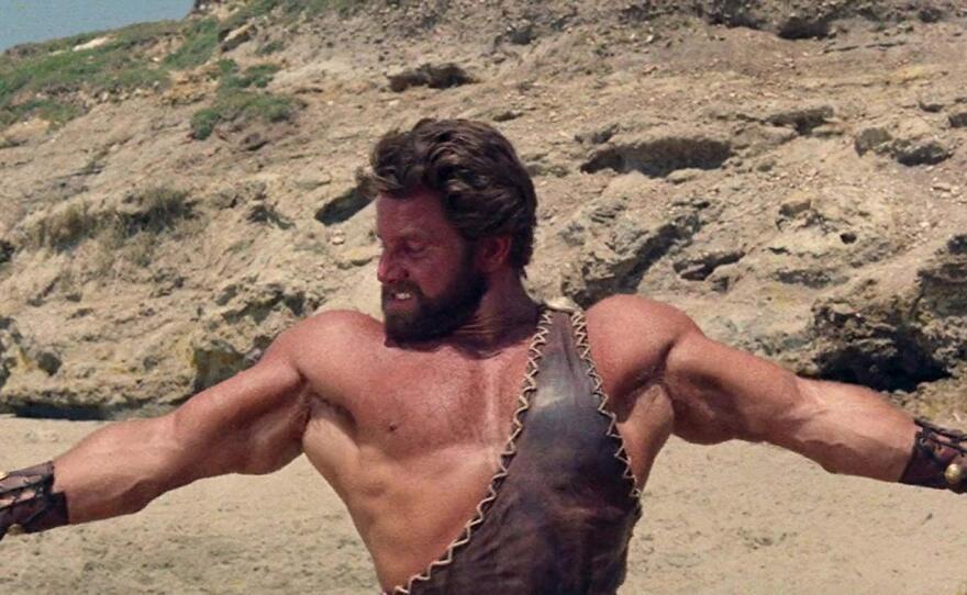 "Reg Park is Hercules in Mario Bava's ""Hercules in the Haunted World."""