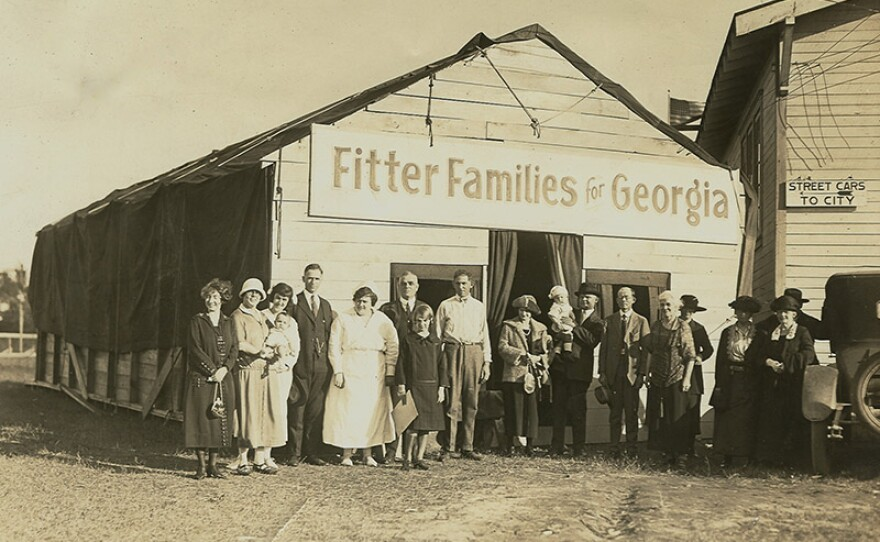 Fitter Families for Georgia, 1924