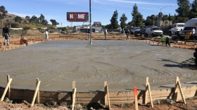 The billboard was not meant for them but Derby United likes what it says about the new home they are building in Encanto for roller derby. Dec. 17, 2019