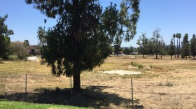 """The site of the former Escondido Country Club golf course, where a development called """"The Villages"""" is proposed, July 3, 2017."""