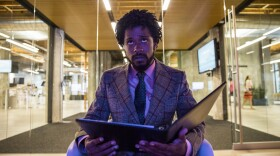 """Cassius Green (Lakeith Stanfield) unexpectedly rises in the telemarketing world once he discovers his """"white voice"""" in """"Sorry to Bother You."""""""