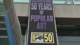 """Comic-Con International celebrated its 50th show in 2019, which also happens to be the last in person convention before the pandemic hit. The origins of Comic-Con are now the topis of a new six-part podcast called """"Comic-Con Begins. July 16, 2019."""