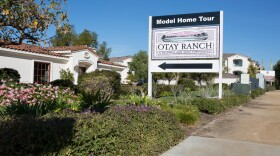Newer housing developments such as this one in eastern Chula Vista, shown here Jan. 4, 2018, are in an area of San Diego County that experienced the greatest increase in income inequality from 2011 to 2016. (Megan Wood/inewsource)