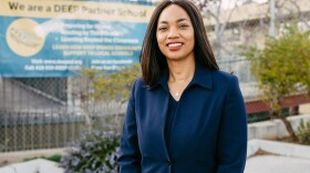 An undated campaign photo of Akilah Weber.