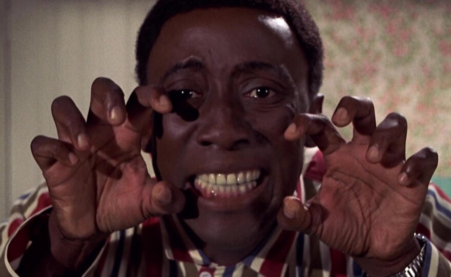 "Godfrey Cambridge plays a bigoted white man who wakes up Black in Melvin Van Peebles' ""Watermelon Man"" (1970)."