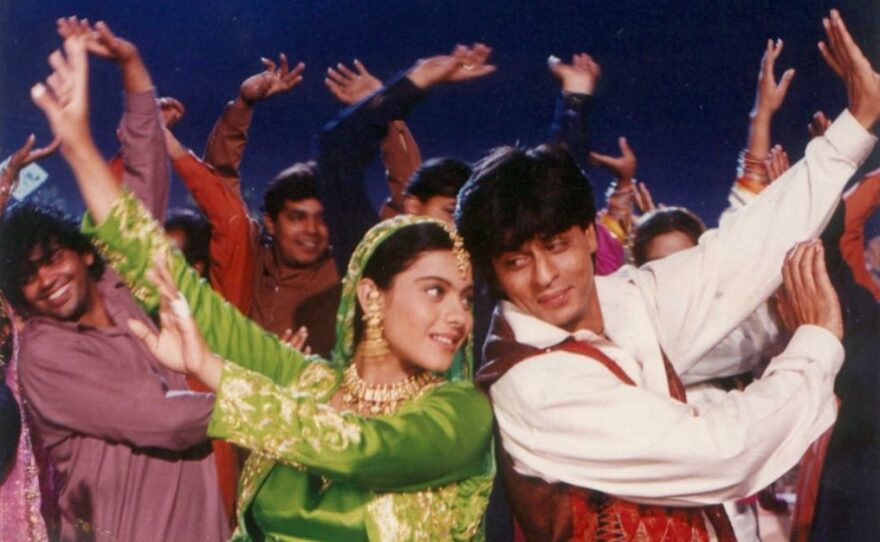 """""""Dilwale Dulhania Le Jayenge"""" (1995) played for more than a thousand weeks in one cinema, attesting to the popularity of Bollywood films."""