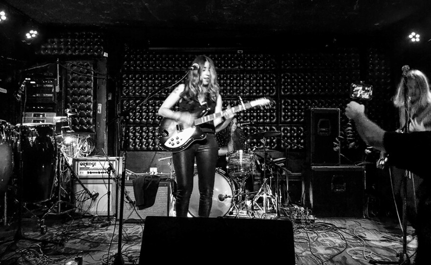 The band Le Ra performs at The Casbah in this July 2019 photo.