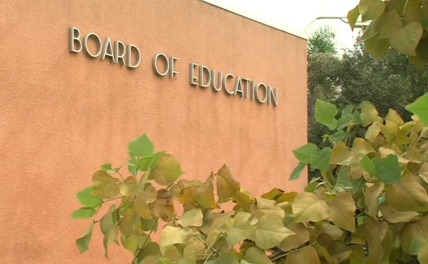 The San Diego Unified Board of Education building at 4100 Normal Street.