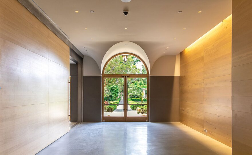 Mingei architect Jennifer Luce echoed the historic building's architectural features when adding new entryways, including new public access from Balboa Park's Alcazar Garden.