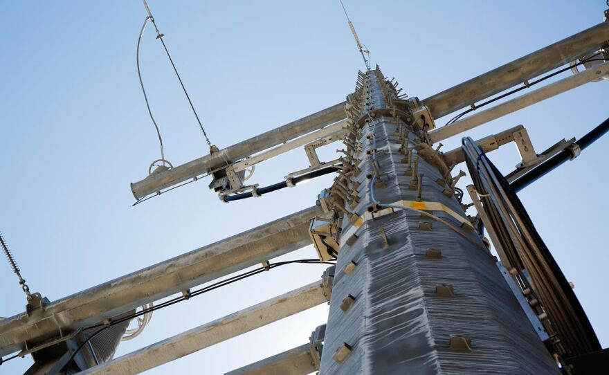 Transmission lines to connect Otay Mesa Energy Center to the grid cost more than $200 million, borne by ratepayers, June 2016.