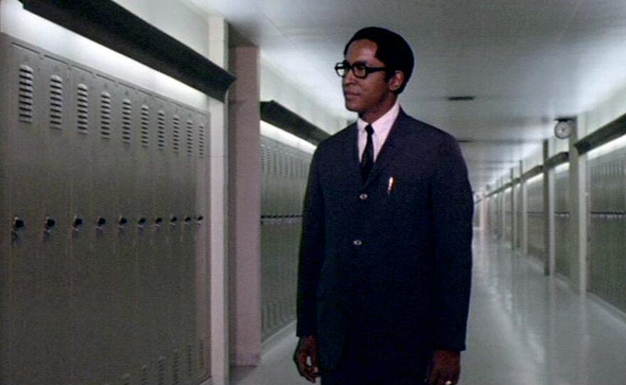 "Lawrence Cook plays Dan Freeman in Ivan Dixon's film of Sam Greenlee's controversial novel ""The Spook Who Sat By The Door"" (1973)."