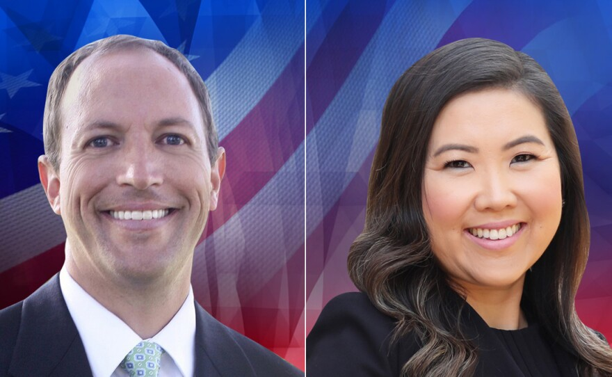 77th Assembly District candidates Brian Maienschein and June Cutter are pictured in this undated photo.